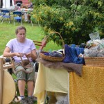 RiversleaFiberFest_spinningroving